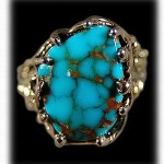 Villa Grove Turquoise Ring