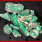 Broken Arrow Green Turquoise