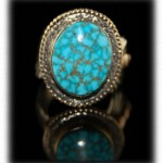New Kingman Turquoise Ring