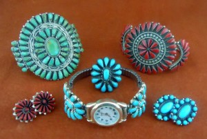 Zuni Petit Point Jewelry