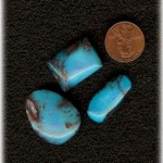Bisbee Turquoise Cabochons