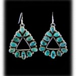Blue Moon Turquoise Earrings